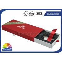 Cosmetics Packaging Paper Sleeve Box / Paper Slide Box SGS FSC Approvals Manufactures