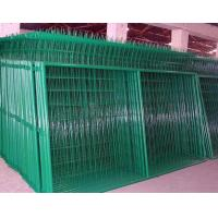 Trade Assurance 50*200mm PVC Coated Welded Wire Mesh Fence/Galvanized Wire Mesh Fence/welded wire fence Manufactures