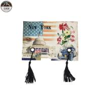 Tassels Digital Printed Patches / Custom Photo Patches Eco Friendly 13*19CM Size Manufactures