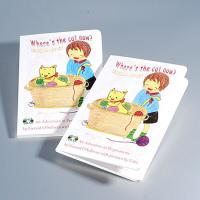 Custom paper childrens book,cardboard books,hardboard books.magazine,DIY paperboard book Manufactures