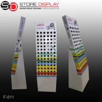LED lamp corrugated cardboard display stand Manufactures