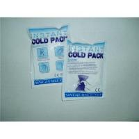 Buy cheap Instant Ice Pack(disposable gel pack,cold pack supplier) from wholesalers