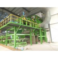 50Hz Rockwool Sandwich Panel Production Line , Continuous Mineral Wool Sandwich Panel Production Line