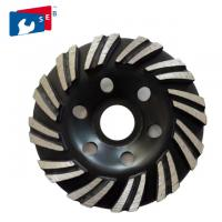 China 4'' 5'' Diamond Cup Grinding Wheel for Concrete Masonry Material on sale