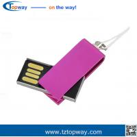 Ultra slim rotate USB Flash Drives, USB Flash Drives Bulk Cheap memory storage Manufactures