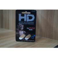 China Recycled Blister Pack Packaging For HD Male Sexual Enhancement Capsule for sale
