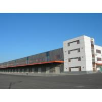 High Rise Temporary Steel Residential Workshop Buildings Solid Insulation Energy Saving Manufactures
