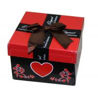 China Fashion Custom Paper Keepsake Gift Boxes For Promotional With Ribbon Butterfly Bow on sale