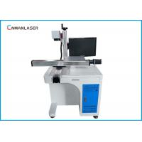 Buy cheap Desktop Metal Laser Marking Machine Moving Working Table Raycus Sources from wholesalers