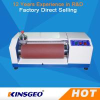 Manual Automatic AC 220V, 50 ~60Hz 3A Rubber Abrasion Resistance Test Machine with 12 Months Warranty Manufactures