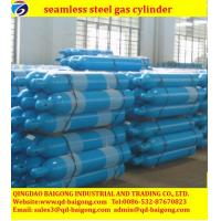 Buy cheap China Supply 40L seamless steel oxygen cylinder from wholesalers
