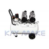 China 80KG Quiet Oilless Air Compressor Double Cooling Design With Shock Pad on sale