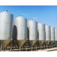 China CE Certificate Large Scale Conical Fermentation Tank Ice Water Cooling System on sale