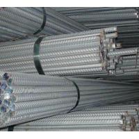 China Hot Rolled Ribbed Deformed Steel Bars For Building Construction , Size 6mm - 50mm on sale