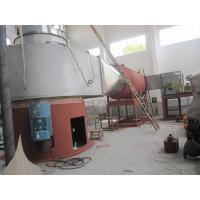 SUS304 Spin flash dryer for drying clay , capacity 1~10ton per hour ,heating source gas furnace for sale