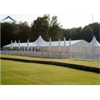 China Aluminum Structure Sport Custom Event Tents White PVC Fabric Water Proof on sale