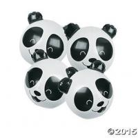 Buy cheap PVC Panda Bear Beach Party Toy Inflatable Beach Ball 11 Inch Kids Toy Decoration from wholesalers