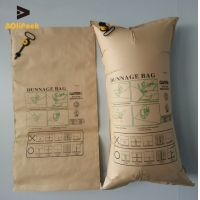 China Biodegradable 6 Tons 500*1500mm Inflatable Dunnage Bag on sale