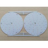 HASL LF Aluminum Base LED Light PCB Board 1 Layers White Soldmask Manufactures