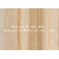 Durable PET Hot Stamping Film , Wood Grain Hydrographic Film Damp Proof Manufactures