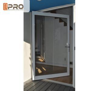 China Customized Size Aluminum Glass Pivot Entry Door / Center Pivot Door on sale