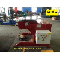 Buy cheap 2000kg Manual Fixed Welding Positioner Chuck Adjustable VFD Control from wholesalers