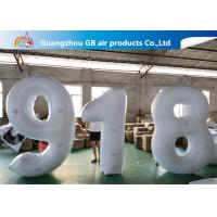 Outdoor Advertising Inflatable Letters And Number Airtight For Sale Manufactures