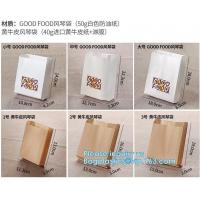 fried chicken hamburger fast food packaging wrapped bag plastic paper wholesale disposable custom printing,Deli food pac Manufactures