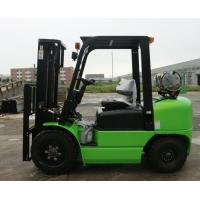Green Road Construction Machinery , High Performance 3T Gas Engine LPG Forklift Manufactures