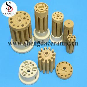 China Cordierite Ceramic Insulator for Bobbin Heater on sale