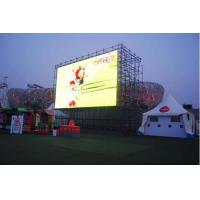 7500 High Brightness Outdoor Advertising Led Display Screen 6mm Pixels Manufactures
