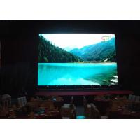 Quality 1R1G1B P10 SMD 3 in 1 Indoor Fixed LED Display / Programmable full color LED display screen for sale