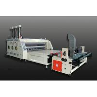 High Performance Slotting Flexo Printing Machine / Automatic Feeding Cardboard Machine Manufactures
