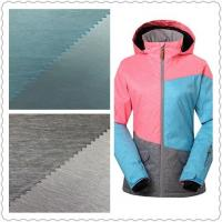 Warm Waterproof UV Resistant Fabric 2/1 Weft Twill 75D * 150D For Skiing Wear Manufactures