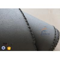 1600gsm Grey Thermal Welding Blanket Materials Silicone Coated Fiberglass Fabric Manufactures