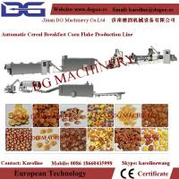 China 300kg/h breakfast cereal corn flakes extrusion production line on sale