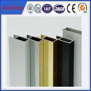 Aluminium alloy aluminium window profiles, aluminium rails for windows glass Manufactures