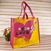 Decorative Silk Screen Custom Non Woven Tote Bags For Clothing Package Manufactures