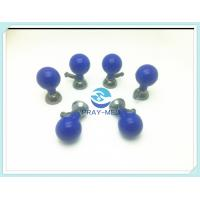Agcl Material ECG Clamp Electrodes Bulb , Suction Cup ECG Electrodes Accurate Messurement Manufactures