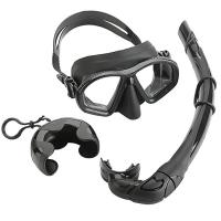 Low Volume Diving Mask Snorkel Set Easy Breath Scuba Snorkeling Gear Manufactures