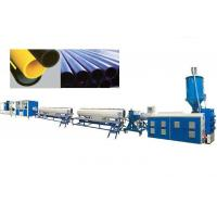 PPR PE Pipe Extrusion Line Automatic Pe Pipe Production Line High Speed Manufactures