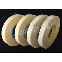Rubber Adhesive Electrical Wire Tape , 0.28mm Thick Yellow Insulation Tape Manufactures