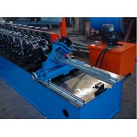 China Drywall Metal Stud And Track Roll Forming Machinery 5.5Kw For Building 8-15m/Min on sale