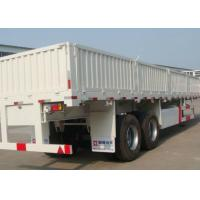 ISO CCC Heavy Duty 3 Axle Semi Trailers 70000Kgs Gross Vehicle Weight Manufactures