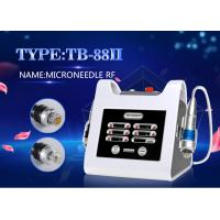 China Professional Portable RF Fractional Microneedle Machine For Wrinkle Removal on sale