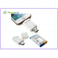 USB i- Flash Drive HD For iPhone / ipad with Toshiba Samsung Flash Chip , 16G 32G 64G Manufactures