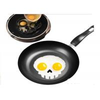 Funny Skull Shaped Silicone Egg Ring / Egg Ring Silicone Durable Manufactures