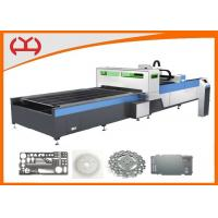 12mm Thickness 500 Watt CNC Fiber Laser Cutter , Fiber Optic Laser Cutting Machine Aluminum Manufactures