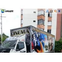 5D Dynamic Theater Simulation 5D Movie Theater With Exciting 12 Secial Effect Manufactures