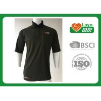 Comfortable Quick Dry Shirts Moisture Wicking Polo Shirts For Hiking / Sports Manufactures
